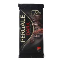 Juodasis šokoladas PERGALĖ, 72%, 100g