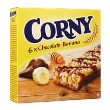 Batonėliai šokolado-bananų sk. CORNY, 150 g