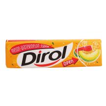 Närimiskumm meloni-arbuusi Dirol 13,6g