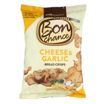 Duonos traškučiai sūr.česn., BON CHANCE, 240g