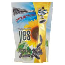 Dryžuotos sūdytos saulėgrąžų sėklos YES, 150g