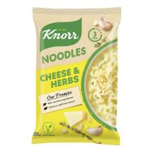 Nūdeles Knorr ar sieru zaļumiem ātri pag. 61g
