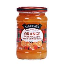 Apelsinų marmeladas su šampanu MACKAYS, 340g