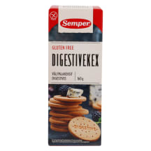 Küpsis Semper Digestive gluteenivaba 160g