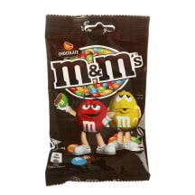 Pieninis šokoladas trašk. glajuje, M&M'S, 90g