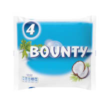 Šokolaadibatoon Bounty 4-pakk 228g