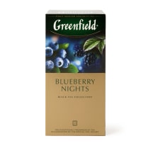 Melnā tēja Greenfield Blueberry 25x1,5g