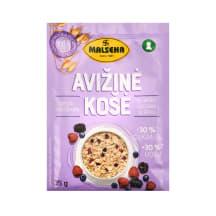 Avižinė košė pien.mišk.uog., MALSENA, 35 g