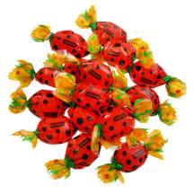Želee kommid täidisega Ladybird Roshen kg