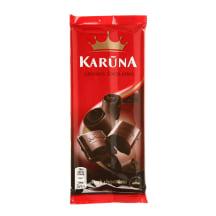 Juodasis šokoladas KARŪNA, 90g