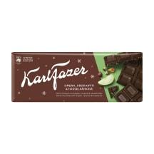 Tume šokolaad õuna&karamelli Karl Fazer 200g