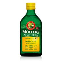 Zivju eļļa Möller's citronu garša 250ml
