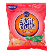 Kummikommid Fazer Tutti Frutti Passion 180g