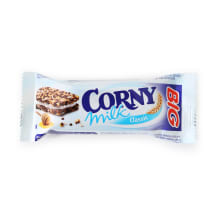 Batoniņš Corny Big Sandwich piena 40g