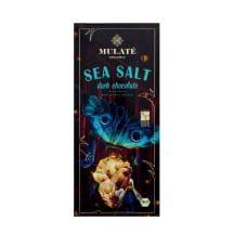 Ekol. šokoladas su jūros druska MULATE, 80 g