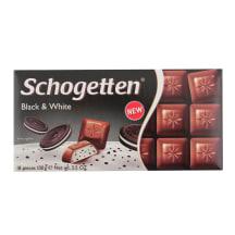 Šokolāde Schogetten Black & White 100g