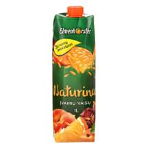 Įvairių vaisių sulčių gėrimas NATURINA, 1l