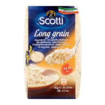 Ilgagrūd. ryžiai RISO SCOTTI LONG GRAIN, 1 kg