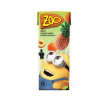 Dzēriens Zoo Minions multiaugļu 0.2l