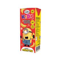 Bananų ir braškių gėrimas ZOO ICE AGE, 0,2l