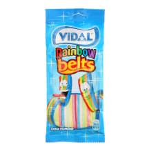 Kummikommid rainbow belts Vidal 100g