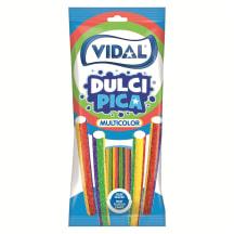 Kummikommid sour rainbow pencil Vidal 100g