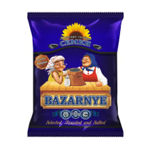 Saulespuķu sēklas Bazarnyje melnas, sāl. 100g