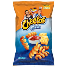 Čipsi Cheetos ar siera un kečupa garšu 145g