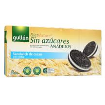 Kakav. sausainiai krem.be cukr., GULLON, 210g