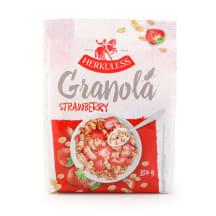Granola su braškėmis, HERKULESS, 350 g