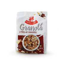 Granola su 3 rūšių šokoladu HERKULESS, 350 g