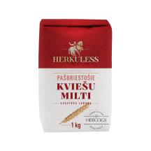Kviešu milti Herkuless pašbriestošie 1kg