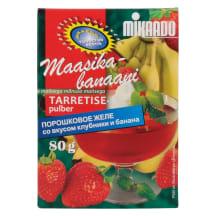 Tarretisepulber maasika-banaani Mikaado 85g