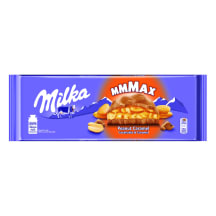 Piimašokolaad maapähkli&karamelli Milka 276g