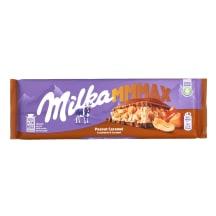 Šokoladas MILKA PEANUT CARAMEL, 276 G