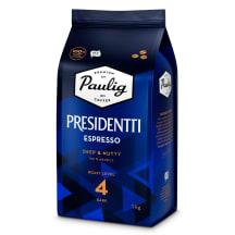 Kohvioad espresso Paulig Presidentti 1kg
