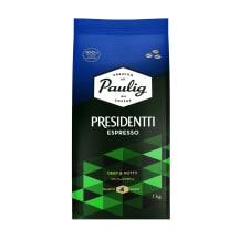Kafijas pupiņas Presidentti espresso 1kg