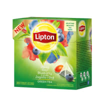 Tee roheline goji&mustika Lipton 20x1,8g