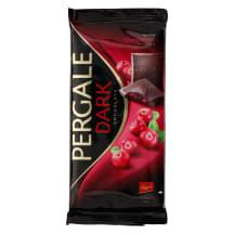 Tume šokolaad jõhvikatega Pergale 93g