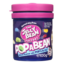 Želejkonfektes Jelly bean Pop a bean 100g