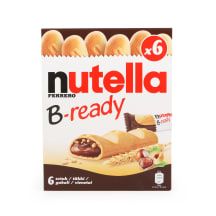 Šokolādes batoniņš Nutella b-ready 132g