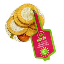 Šokoladinės EURO monetos maišelyje, 25g