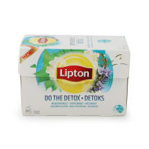 Zaļā tēja Lipton Do the detox 20x1,6g
