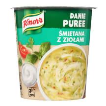 Bulvių košė su grietinėl.žolel., KNORR, 48 g
