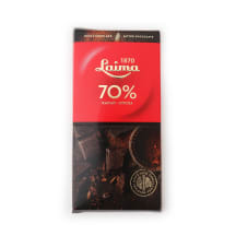 Rūgtā šokolāde Laima 70% 100g
