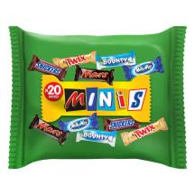 Šokolādes konfektes Mixed minis bag 400g