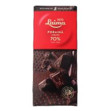 Rūgtā šokolāde Laima, porainā 70% 90g