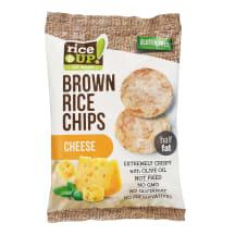 Rudųjų ryžių traškučiai su sūriu RICE UP, 60g