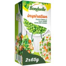 Zaļie zirnīši Bonduelle Inspiration 2x65g