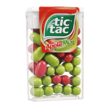 Obuolių skonio saldainiai TIC TAC, 18g